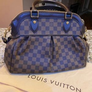 Louis Vuitton Damier Ebene Trevi GM bag